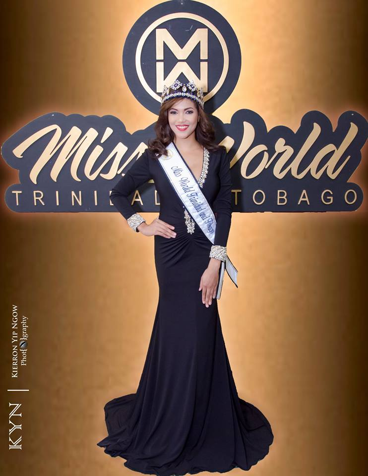 Daniella Walcott, Miss World Trinidad & Tobago 2016
