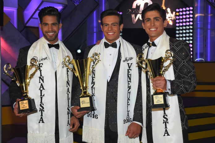 Renato Barabino is Mister Venezuela 2016