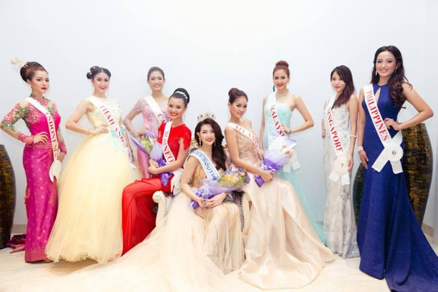 Mai Ngan from Vietnam wins Miss Southeast Asian 2016