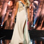 Brie Gabrielle, Miss Florida competes during the evening gown competition at Miss USA 2016 preliminary show