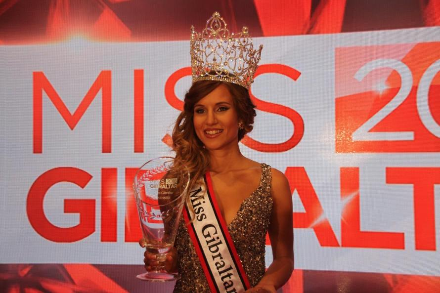 Kayley Mifsud won Miss Gibraltar 2016 she will represent Gibraltar at Miss World 2016