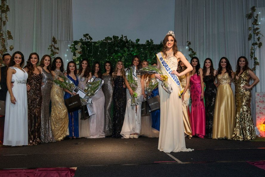 Romina Trotto won the title of Nuestra belleza uruguaya 2016 she will represent Uruguay at Miss World 2016 pageant