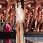 Morgan Abel, Miss Indiana USA competes during the evening gown competition at Miss USA 2016 preliminary show