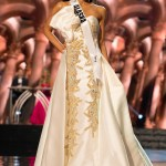 Ariane Audett, Miss Alaska USA competes during the evening gown competition at Miss USA 2016 preliminary show