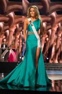 Marisa Butler, Miss Maine USA competes during the evening gown competition at Miss USA 2016 preliminary show