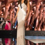 Sarah Hollins, Miss Nebraska USA competes during the evening gown competition at Miss USA 2016 preliminary show