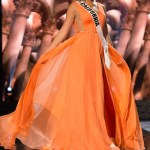 Nadia Mejia, Miss California USA competes during the evening gown competition at Miss USA 2016 preliminary show