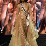 Deshauna Barber, Miss District Of Columbia USA competes during the evening gown competition at Miss USA 2016 preliminary show