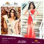 Brena Wanzeler is representing AMAPÁ at Miss Mundo Brasil 2016