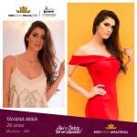 Tayana Maia is representing AMAZONAS at Miss Mundo Brasil 2016