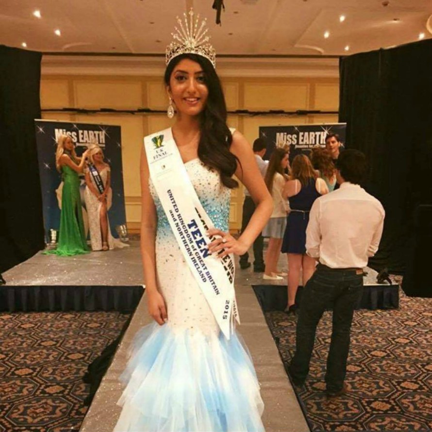Miss Teen Continents 2016- Anjali Sinha of United Kingdom