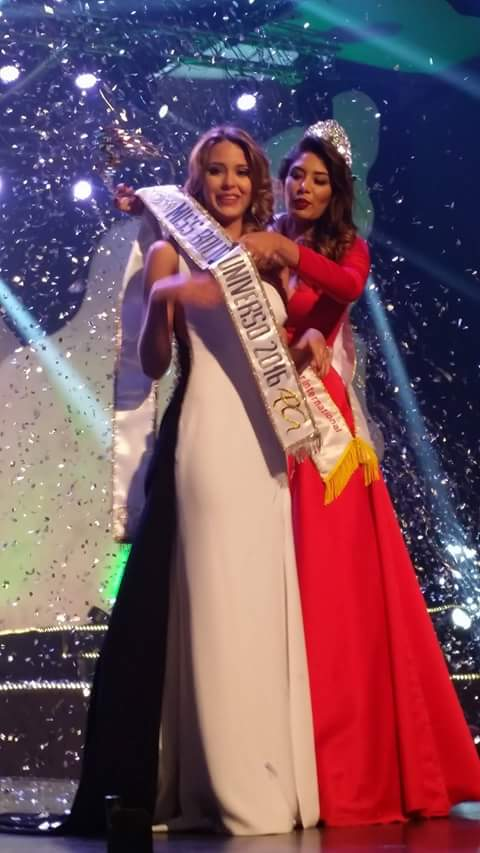 Antonella Moscatelli was crowned as the winner of Miss Bolivia 2016.