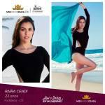 Raira Cendi is representing CEARÁ at Miss Mundo Brasil 2016