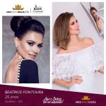 Beatrice Fontoura is representing GOIÁS at Miss Mundo Brasil 2016
