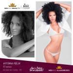 Vitoria Felix is representing ilhas de BUZIOS - RJ at Miss Mundo Brasil 2016