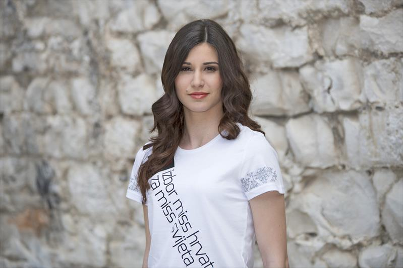 Angelica Zacchigna won Miss Hrvatske 2016 she will represent Croatia at Miss World 2016