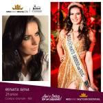 Renata Sena is representing MATO GROSSO DO SUL at Miss Mundo Brasil 2016