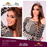 Victória Tereza is representing PARÁ at Miss Mundo Brasil 2016
