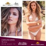 Carolina Ermel is representing RIO DE JANEIRO at Miss Mundo Brasil 2016