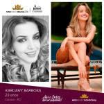 Karliany Barbosa is representing RONDÔNIA at Miss Mundo Brasil 2016