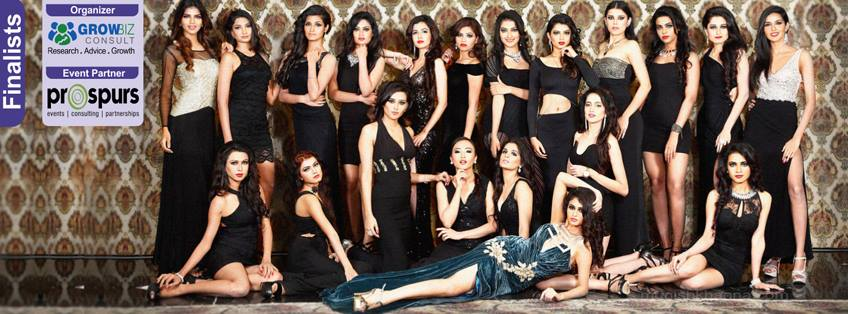 Miss Earth India 2016 Contestants during Miss Earth India 2016 Official Photo shoot