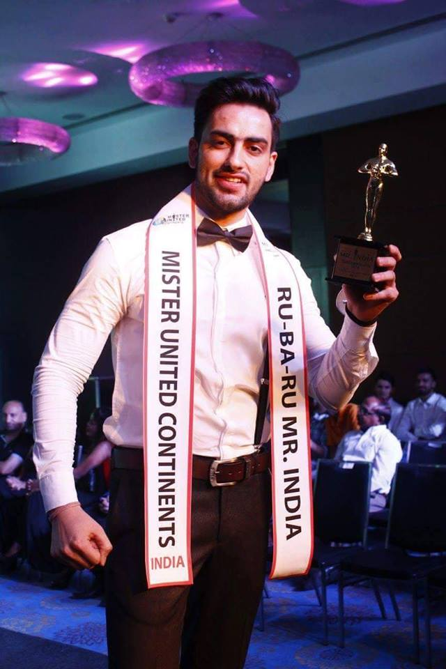 Meet Mohit Singh, Mister United Continents India 2016
