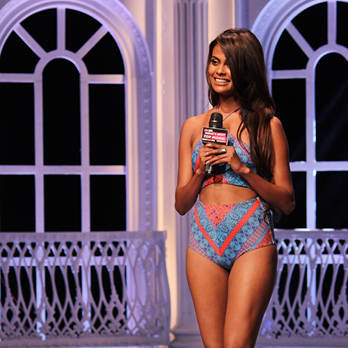 in India's Next Top Model Season 2 Bikini Pictures