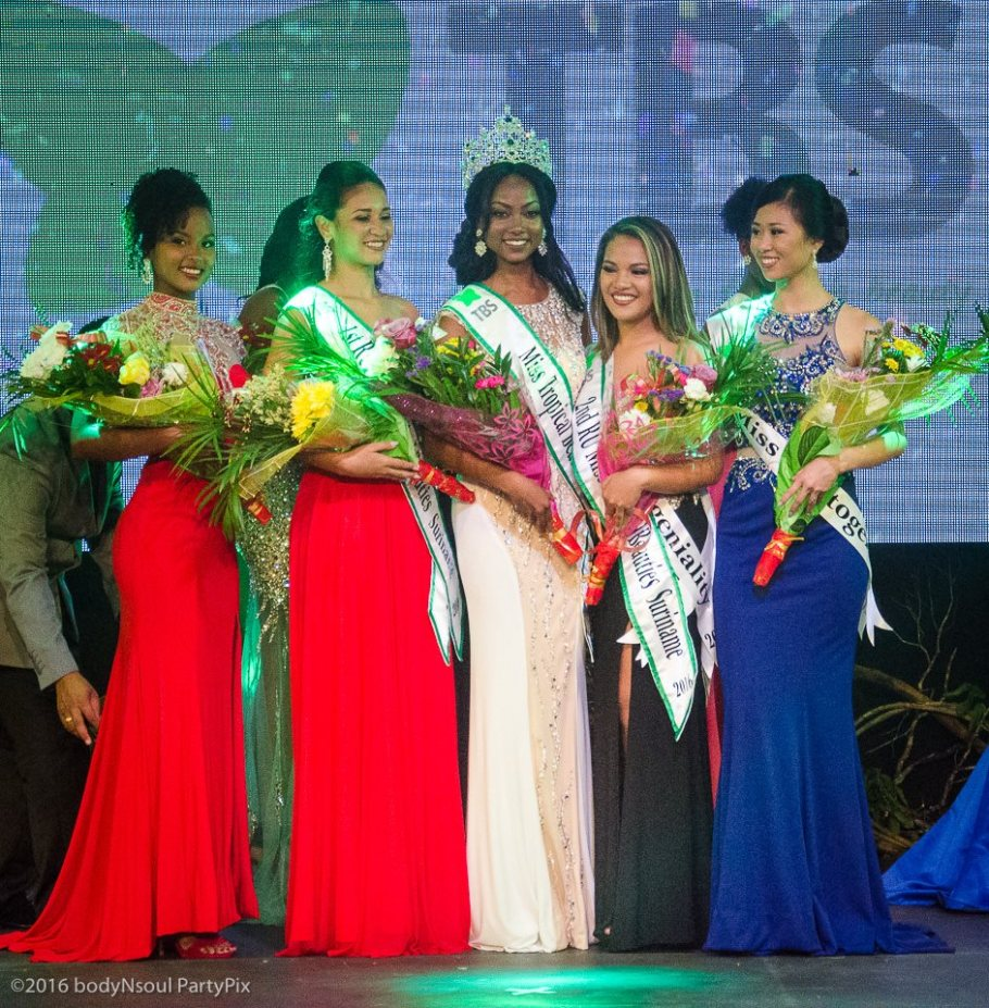 Jaleesa Pigot is Miss Tropical Beauties Suriname 2016