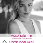 Vada Muller is one of the Miss Universe Germany 2016 Contestants