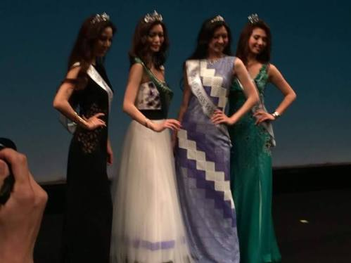 Ami Hachiya crowned Miss Earth Japan 2016