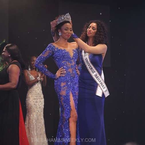 Cherell Williamson wins Miss Universe Bahamas 2016