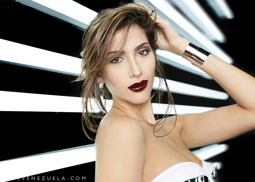 Miss Cojedes-Sarahim Sariht Dávila Hernández during Miss Venezuela 2016 Glam Shots