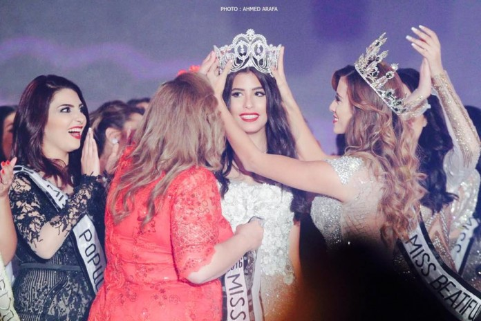 Nadeen Osama El Sayed is Miss Egypt World 2016