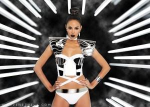Miss Monagas-Keysi Mairin Sayago Arrechedera during Miss Venezuela 2016 Mid Length Photo Shoot
