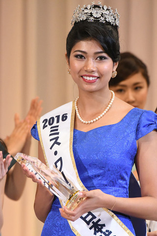 Priyanka Yoshikawa won Miss World Japan 2016 will represent Japan at Miss World 2016 pageant