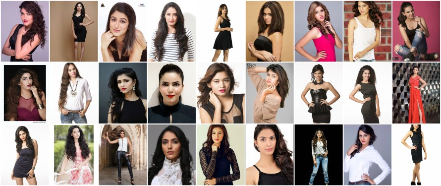Indian Princess 2016 Contestants