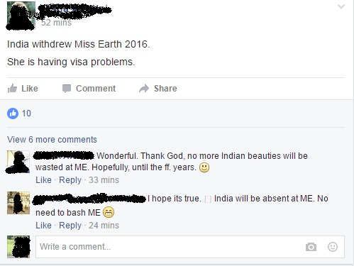 Miss Earth India 2016