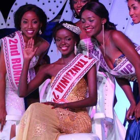 Diana Edward Lukumai Miss Tanzania