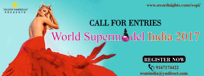 Register to participate in 'World Supermodel India 2017' pageant