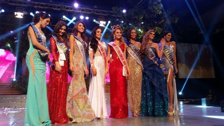 Colombia's Maria Camila Soleibe won Reina Hispanoamericana 2016