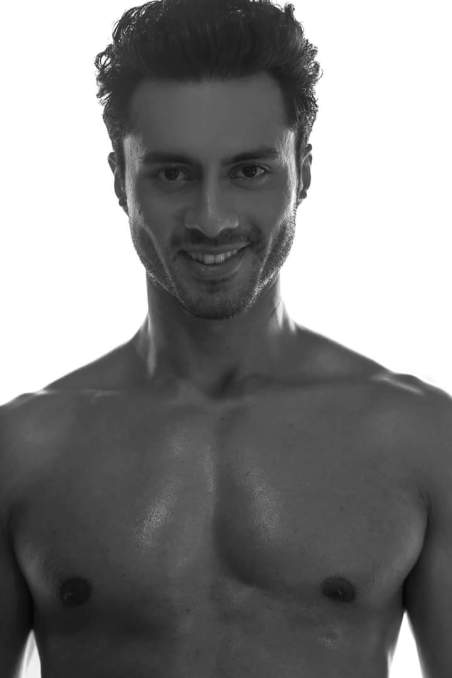 Viren Barman Peter England Mister India 2016