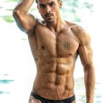 Ankit Raj Pawar during Mr.India 2016 Bare Body Photo Shoot