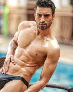 Dev Paimal during Mr.India 2016 Bare Body Photo Shoot