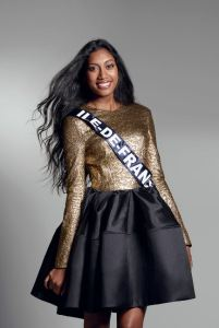 Meggy Pyaneeandee is representing Île-de-France at Miss France 2017