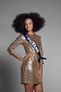 Alicia Aylies is representing Guyane at Miss France 2017
