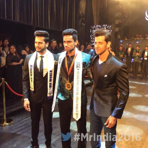 Vishnu Raj Menon wins Peter England Mister India 2016