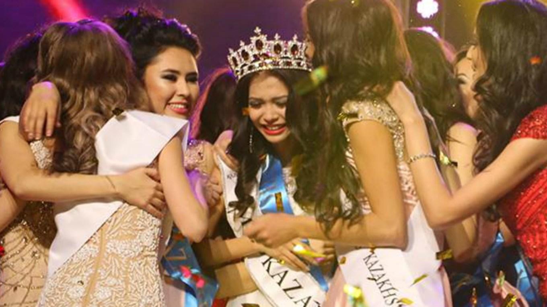 Miss Kyzylorda,Gulbanu Azimkhanova was crowned as Miss Kazakhstan 2016 she will represent Kazakhstan at Miss World 2017
