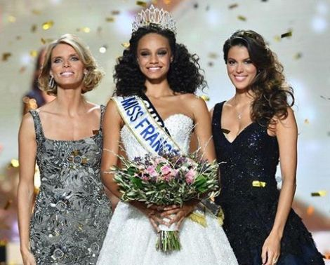 Alicia Ayeles crowned as Miss France 2017