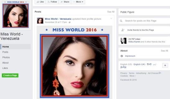 Miss World Venezuela