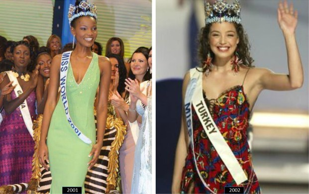 Theory: Which Evening Gown colour can make you a Miss World winner?